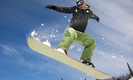 Seven Weeks of Snowboarding Lessons for One or Two at Lyon Ski School (51% Off)
