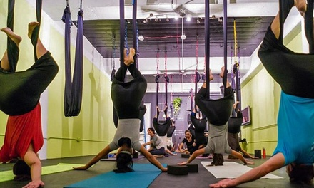One, Three, or Five Aerial Yoga Classes at Aerial Yoga Houston (Up to 58% Off)