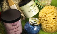Solid Perfume and $30 Worth of Handmade All-Natural Soaps and Lotions at Naked Body + Bath ($37 Value)