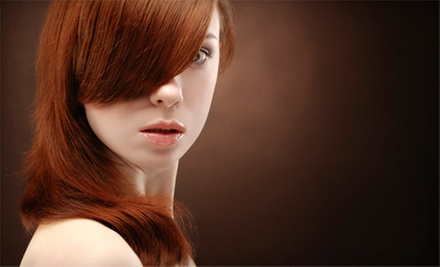 Keratin Smoothing Treatment with Option for Cut, Blow-Dry, and Style at Foundation Hair Studio (Up to 56% Off)