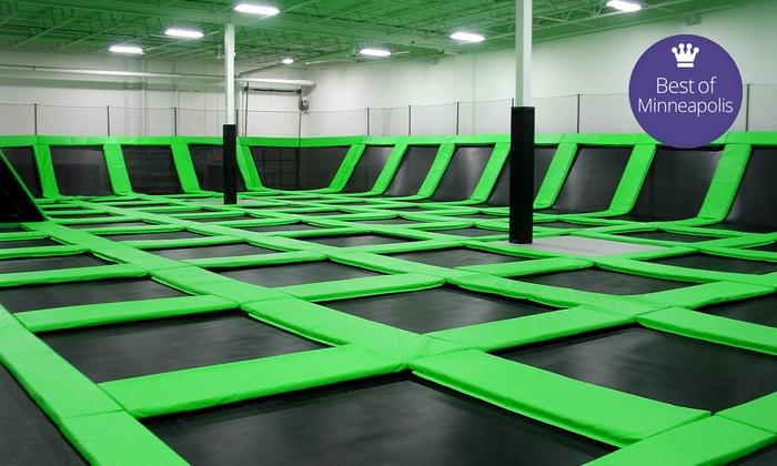 Zero gravity trampoline park coupons