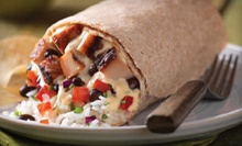 Mexican Meal for Two or Four with Entrees, Chips and Salsa, and Drinks at Qdoba Mexican Grill (Up to Half Off)