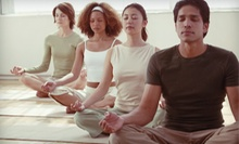 Ten Classes or One Month of Yoga Classes at Hiawatha Yoga (Up to 68% Off)