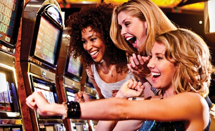 $20 for a Casino Visit for Two with Valet Parking, Slot Machine Credit, and Restaurant Credit at Parx Casino ($70 Value)
