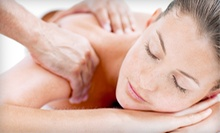 $45 for Chiropractic Package with Massage at Advance Medical Rehabilitation Center ($450 Value)