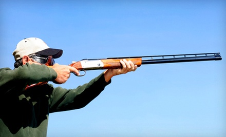 Sporting Clays Outing for Two with Optional Equipment Rental and Safety Class at Red's Fly Shop (Up to 65% Off)