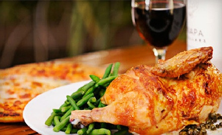 Dinner with Dessert and Wine for Two or Four at Sonoma Chicken Coop (Up to Half Off)