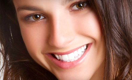 Dental Checkup or a Zoom! Whitening Treatment at Dental by Design (Up to 90% Off)