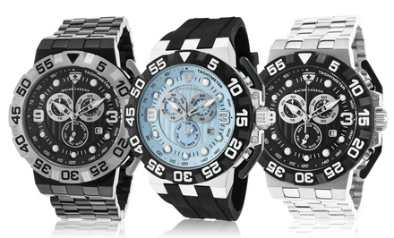 Swiss Legend Challenger Collection Watches with Swiss Movement for Men and Women from $39.99–$89.99