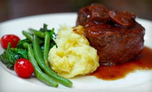 Upscale American Cuisine for Lunch or Dinner at Sweet Pea's Restaurant in Riverton (Up to 52% Off)