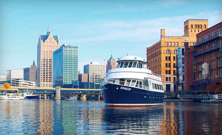 $9.50 for a Historical and Trivia Cruise or Sunset Happy-Hour Cruise from Milwaukee Boat Line ($19 Value)