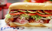 Sub Sandwiches and Drinks or Party Platters at Lenny's Sub Shop (Half Off)