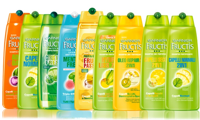 Garnier fructis addio danni for Tre v arreda srl