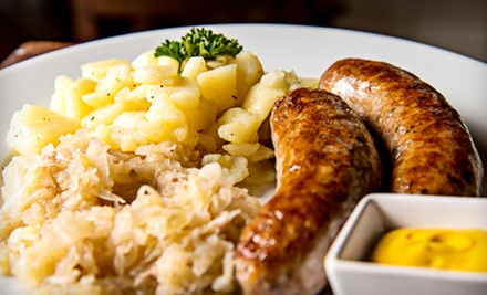German Food from Das Cafe (Half Off). Two Options Available.
