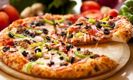 Pizza Meal or $10 for $20 Worth of Italian American Cuisine at Cedar's Restaurant