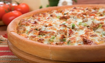 Family-Style Pizza Dinner or $10 for $18 Worth of Pizza for Take-Out at Godfather's Pizza
