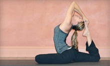 10 or 20 Classes at Roots Yoga (Up to 67% Off)