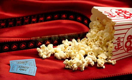 $10 for a Movie for Two with One Small Popcorn at Fox Bay Cinema Grill (Up to $21.99 Value)