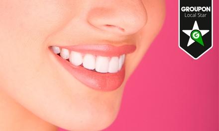 Pronto Dente — 3 localizações: higiene oral completa com destartarização e opção de branqueamento LED desde 12€
