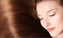 Keratin Treatment and Haircut for One or Two at Jewels Beauty Bar (Up to 80% Off)