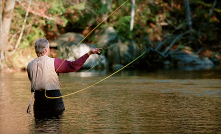 Three-Hour Fly-Fishing Lesson for One, Two, or Three at Bob White Springs (Up to 58% Off)