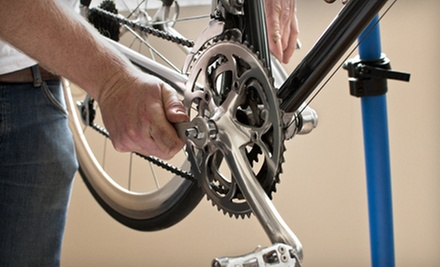 Bicycle Tune-Up or Complete Bicycle Overhaul at Conte's Bicycle and Fitness (Up to 74% Off)
