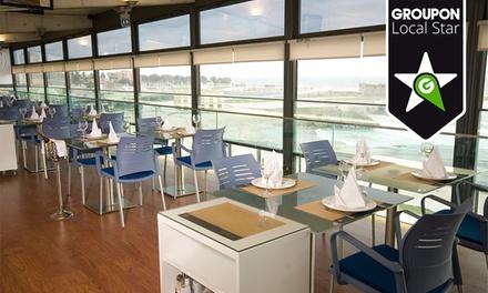 Cufra Grill — Edifício Transparente: menu de francesinhas para dois com bebidas, sobremesas e cafés por 16,90€