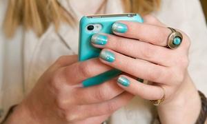 Shellac Manicure Or Spa Mani-pedi At Studio H20 Salon (up To 53% Off)