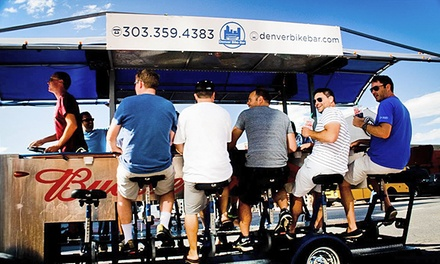 $165 for Two-Hour Ride for up to 16 People from Bike Bar Tours ($360 Value)