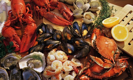 $27 for Dinner for Two at Cy's King Crab Oyster Bar & Grill ($49.85 Value)