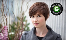 Haircut and Conditioning with Option for Full Highlights or Single-Process Color at Strands Salon & Spa (Up to 68% Off)
