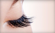NovaLash Eyelash Extensions with Optional Touchup from Laura Standridge at Jessie James Hair Studio (Up to 56% Off)