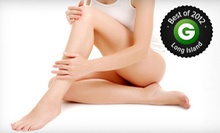 Six Laser Hair-Removal Treatments at Tre Salon and Spa (Up to 85% Off). Three Options Available.