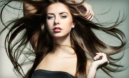 One, Three, or Five Blow-Outs at The Hair Designers (Up to 74% Off)