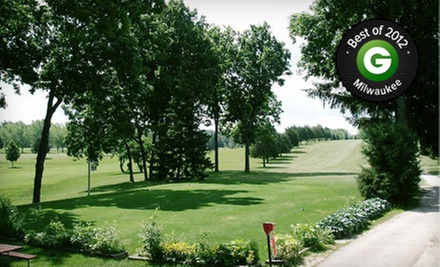 18 Holes of Golf for Two or Four with Carts and Drinks at Paganica Golf Course (Up to 56% Off)