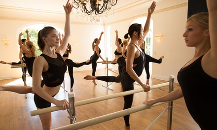 $49 for 10 Cardio Barre Classes at Cardio Barre ($170 Value)