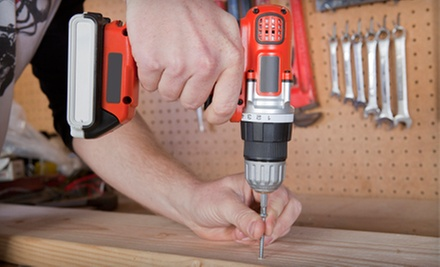 Three or Six Man-Hours of Handyman Services from New Caztle Property Service (Up to 67% Off)