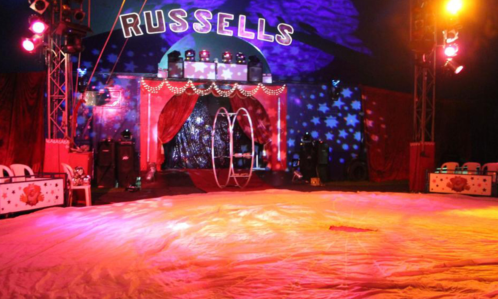 Image result for russells international circus