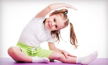 Four Weeks of Classes for One or Two Children, or Three Days of Half-Day Camp at My Gym (Up to 71% Off)