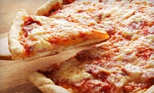Pizza and Italian Sandwiches at Volare Pizza (Up to 52% Off). Two Options Available.
