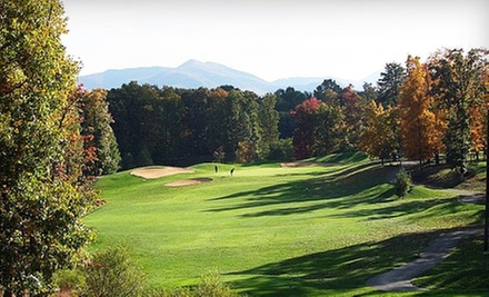Weekend or Weekday Round of Golf for Two with Range Balls at Hanging Rock Golf Club (Up to 54% Off)