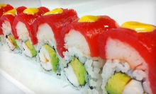 Sushi, Thai, and Chinese Food for Dinner at Mandarin Moon (50% Off)