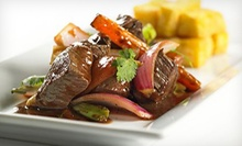 $15 for $30 Worth of Peruvian Food and Drinks at Mayta's Peruvian Restaurant