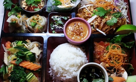 Thai and Southeast Asian Food at Satay Restaurant (40% Off). Two Options Available.