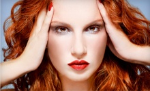 Haircut and Style with Choice of Conditioner, All-Over Color, or Partial Highlights at Rapunzel Salon (Up to 58% Off)