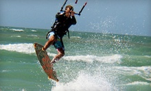 One-Hour On-Land Intro to Kite Boarding Lessons for One or Two at Highroller Kiteboarding (Up to 56% Off) 