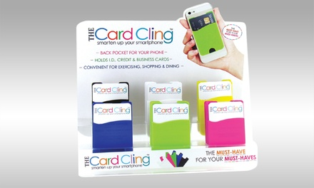 The Card Cling Silicone Smartphone Pocket