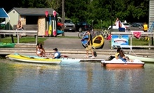 $30 for a Two-Hour Kayak, Canoe, or Paddleboat Rental for Two from Erie Canal Boat Company (Up to $60 Value)