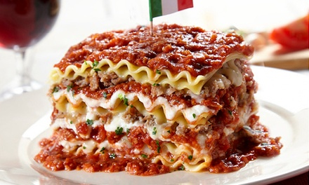 $25 for Two Holiday Gift Groupons, Each Good for $20 Worth of Italian Cuisine at Spaghetti Warehouse ($40 Total Value)