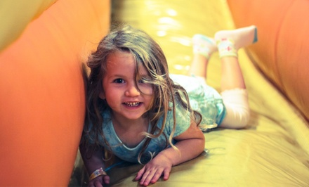 Two or Four Indoor Inflatable Open-Play Sessions at Jump A Roos (50% Off)